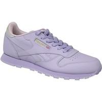 Παπούτσια Παιδί Χαμηλά Sneakers Reebok Sport Classic Leather Violet