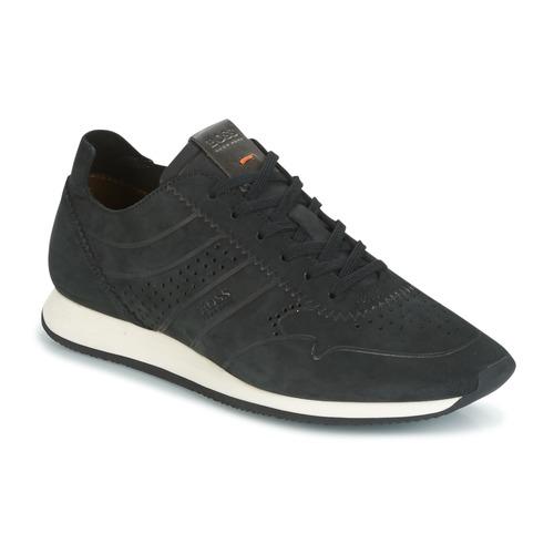 Παπούτσια Άνδρας Χαμηλά Sneakers Hugo Boss Orange ADRENAL RUNN Black
