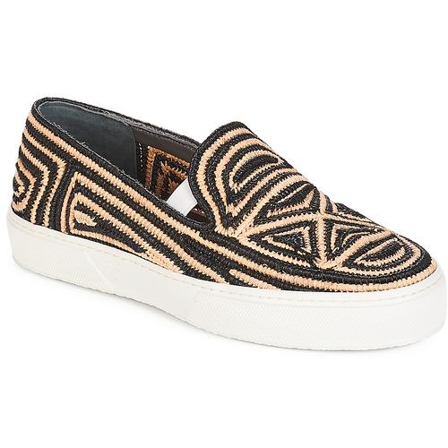 Παπούτσια Γυναίκα Slip on Robert Clergerie  Black / Beige