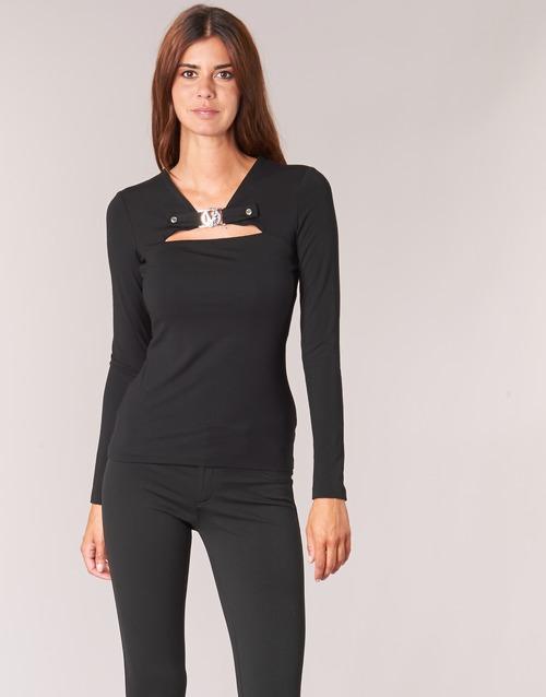 Υφασμάτινα Γυναίκα Μπλούζες Versace Jeans B2HQA732 Black