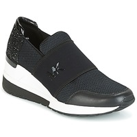 Παπούτσια Γυναίκα Χαμηλά Sneakers MICHAEL Michael Kors FELIX TRAINER Black