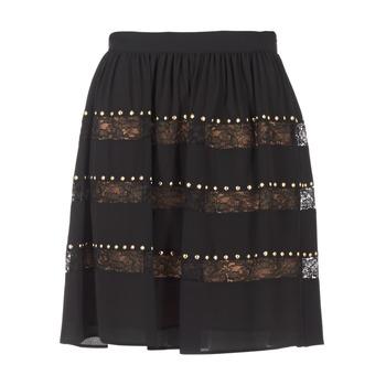 Υφασμάτινα Γυναίκα Φούστες MICHAEL Michael Kors HT/ LACE MIX Black