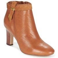 Παπούτσια Γυναίκα Μποτίνια Ralph Lauren BRIN COGNAC