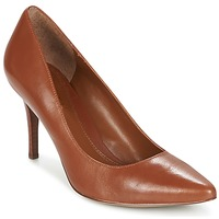 Παπούτσια Γυναίκα Γόβες Ralph Lauren REAVE Cognac