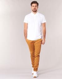 Υφασμάτινα Άνδρας Παντελόνια Chino/Carrot Casual Attitude HOCK Beige