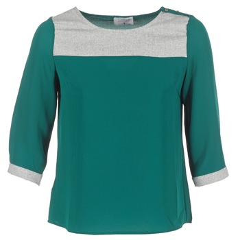 Υφασμάτινα Γυναίκα Μπλούζες Casual Attitude HELA Green