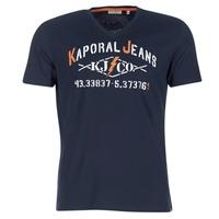 Υφασμάτινα Άνδρας T-shirt με κοντά μανίκια Kaporal MAKAO Marine