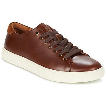Παπούτσια Άνδρας Χαμηλά Sneakers Ralph Lauren JERMAIN Brown