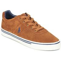 Παπούτσια Άνδρας Χαμηλά Sneakers Ralph Lauren HANFORD COGNAC