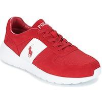 Παπούτσια Άνδρας Χαμηλά Sneakers Ralph Lauren CORDELL Red