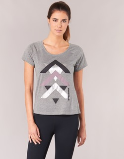 Υφασμάτινα Γυναίκα T-shirt με κοντά μανίκια Only Play LINDA Grey