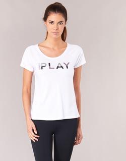 Υφασμάτινα Γυναίκα T-shirt με κοντά μανίκια Only Play LINDA Άσπρο