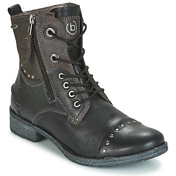 Παπούτσια Γυναίκα Μπότες Bugatti PIERA Black / Grey / Fonce