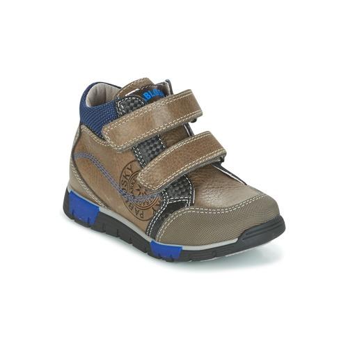 Παπούτσια Αγόρι Ψηλά Sneakers Pablosky DENTELY Grey / μπλέ