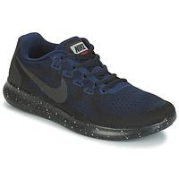 Παπούτσια Γυναίκα Τρέξιμο Nike FREE RUN 2017 SHIELD Black / Μπλέ