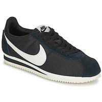 Παπούτσια Γυναίκα Χαμηλά Sneakers Nike CLASSIC CORTEZ NYLON W Black / Άσπρο