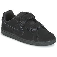 Παπούτσια Αγόρι Χαμηλά Sneakers Nike COURT ROYALE PRE-SCHOOL Black