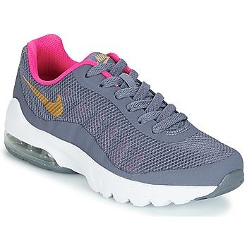 Παπούτσια Κορίτσι Χαμηλά Sneakers Nike AIR MAX INVIGOR GRADE SCHOOL Μπλέ / Ροζ