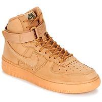 Παπούτσια Παιδί Ψηλά Sneakers Nike AIR FORCE 1 HIGH WB GRADE SCHOOL Miel
