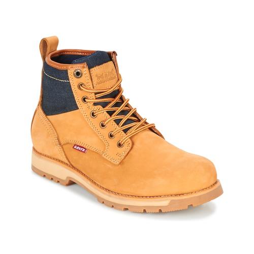 Παπούτσια Άνδρας Μπότες Levi's LOGAN Yellow
