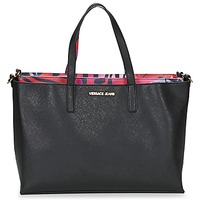 Τσάντες Γυναίκα Cabas / Sac shopping Versace Jeans ANTALOS Black / Red / Multicolore