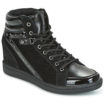 Παπούτσια Γυναίκα Ψηλά Sneakers Versace Jeans GERFI Black