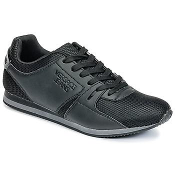Παπούτσια Άνδρας Χαμηλά Sneakers Versace Jeans DEGI Black