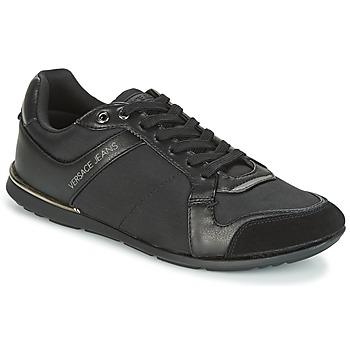 Παπούτσια Άνδρας Χαμηλά Sneakers Versace Jeans TERU Black