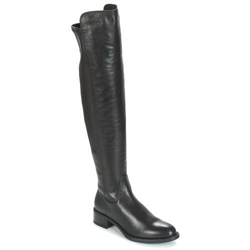 Παπούτσια Γυναίκα Ψηλές μπότες Unisa ELVIS Black