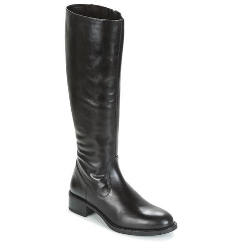 Παπούτσια Γυναίκα Μπότες για την πόλη Unisa EDUCA Black