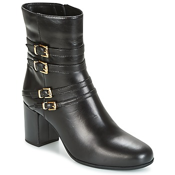 Παπούτσια Γυναίκα Μποτίνια Unisa OPRA Black