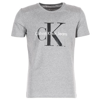 Υφασμάτινα Άνδρας T-shirt με κοντά μανίκια Calvin Klein Jeans TEE RE-ISSUE CN REGULAR FIT TEE SS Grey