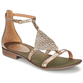Παπούτσια Γυναίκα Σανδάλια / Πέδιλα Now BRENTA Champagne
