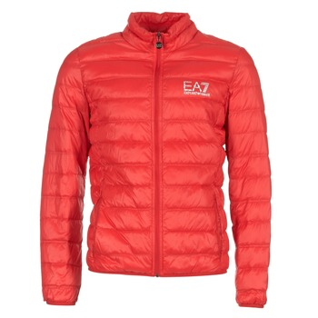 Υφασμάτινα Άνδρας Μπουφάν Emporio Armani EA7 TRAIN CORE ID DOWN LIGHT JKT Red