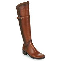 Παπούτσια Γυναίκα Ψηλές μπότες Dorking DULCE CAMEL
