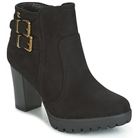 Παπούτσια Γυναίκα Μποτίνια Refresh CALI Black