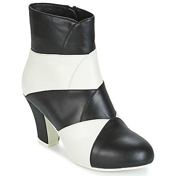 Παπούτσια Γυναίκα Μποτίνια Lola Ramona ELSA Άσπρο / Black