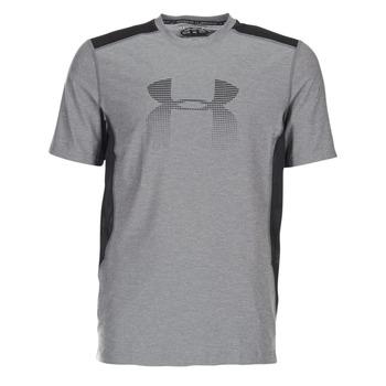 Υφασμάτινα Άνδρας T-shirt με κοντά μανίκια Under Armour UA RAID GRAPHIC SS Grey / Black