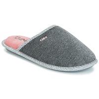 Παπούτσια Γυναίκα Παντόφλες DIM RAJDA Grey / Fonce