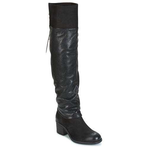 Παπούτσια Γυναίκα Ψηλές μπότες Mjus SHAGGY Black