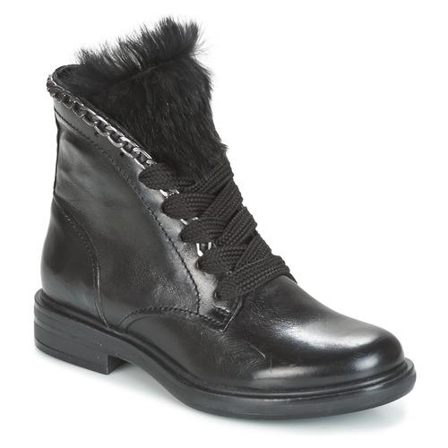 Παπούτσια Γυναίκα Μπότες Mjus CAFE LACE Black