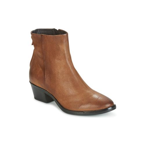 Παπούτσια Γυναίκα Μπότες Mjus FRESNO ZIP Brown