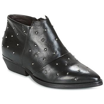 Παπούτσια Γυναίκα Χαμηλές Μπότες Mjus CHRISSIE STUD Black