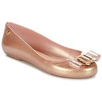 Παπούτσια Γυναίκα Μπαλαρίνες Melissa VW SPACE LOVE 18 ROSE GOLD BUCKLE Ροζ / Χρυσο