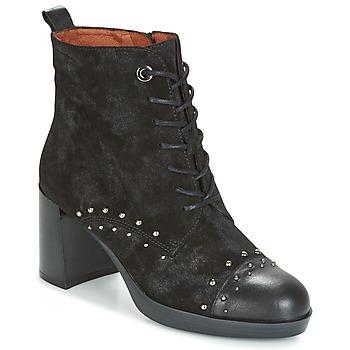 Παπούτσια Γυναίκα Μποτίνια Hispanitas DREW 17 Black
