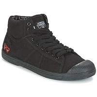 Παπούτσια Γυναίκα Ψηλά Sneakers Le Temps des Cerises BASIC 03 Black