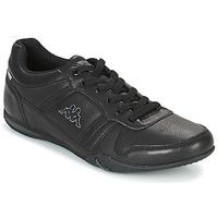 Παπούτσια Άνδρας Χαμηλά Sneakers Kappa PARHELIE Black / Grey