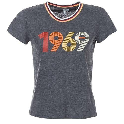 Υφασμάτινα Γυναίκα T-shirt με κοντά μανίκια Rip Curl ROMIE TEE Grey