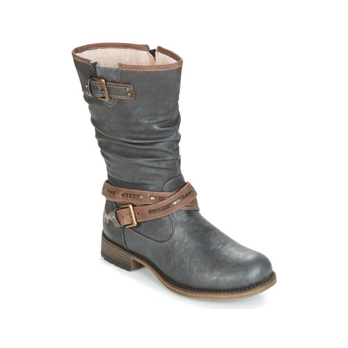 Παπούτσια Γυναίκα Μπότες για την πόλη Mustang ISALBA Grey