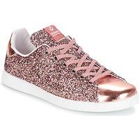 Παπούτσια Γυναίκα Χαμηλά Sneakers Victoria DEPORTIVO BASKET GLITTER Ροζ
